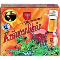 Krauterlikor 35% 20ml x4 Cavelli miniatura
