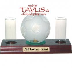 sklo Fotbalový míč 0,35l odlivky Váš text na přání