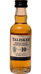 Whisky Talisker 10y 45,8% 50ml miniatura