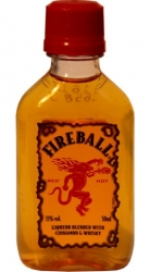 Whisky Fireball 33% 50ml Miniatura