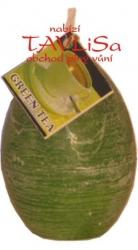 svíčka vajíčko Zelený čaj rustic vonná 65g Rentex