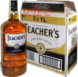 whisky Teachers scotch 40% 1l x6 Skotsko
