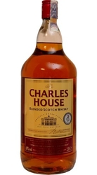 Whisky Charles House 40% 1,5l Scotch etik2