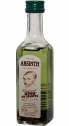 Absinth King of spirits 70% 50ml LOR special etik2