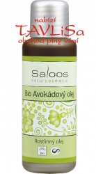 olej rostlinný Avokádový Bio 50ml Saloos