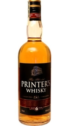 Whisky Printers 40% 0,7l 6-years Stock etik2