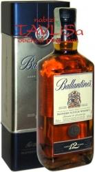 whisky Ballantines 12 Years 40% 0,7l plech