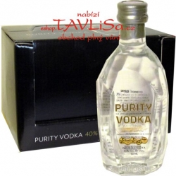 Vodka Purity Imported 40% 50ml x12 Sweden Miniatur