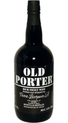 víno Old Porter 13% 0,75l Montilla–Moriles