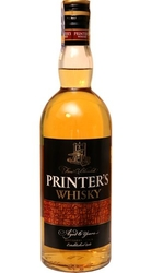 Whisky Printers 40% 0,7l 6-years Stock etik3
