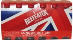 Gin Beefeater Dry 40% 50ml x12 miniatura