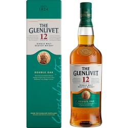 Whisky Glenlivet 12Y Double Oak 40% 0,7l Box