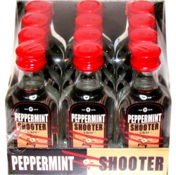Peppermint Shooter 45% 20ml x12 Aromatiq miniatura