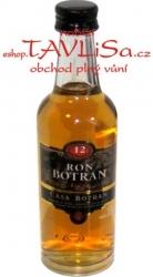 Rum Ron Botran 12 let Anejo 40% 50ml miniatura