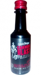 Rum Captain Morgan Cannon Blast 35% 50ml miniatura