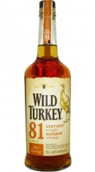 Bourbon Whisky Wild Turkey 81 proof 40,5% 0,7l USA