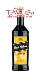 Fernet Black Widow citrus 30% 0,5l Dynybyl