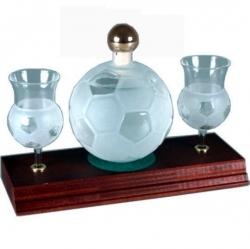 sklo Fotbal míč 0,35l odlivky me AC MILAN