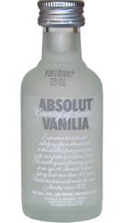 Vodka Absolut Vanilia 40% 50ml miniatura