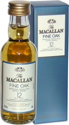 Whisky Macallan 40% 50ml 12y Krabička miniatura