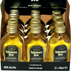 whisky Tullamore Dew 40% 50ml x12 miniatura