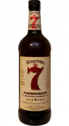 Whisky Seven 7 crown 40% 1l