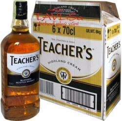 whisky Teachers scotch 40% 0,7l x6 Skotsko