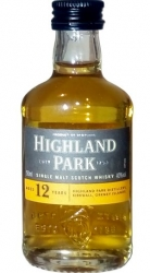 Whisky Highland Park 12 Years 40% 50ml miniatura