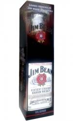 whisky Jim Beam 40% 0,7l USA +originální sklenička