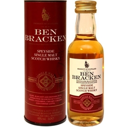 Whisky Ben Bracken Speyside 40% 50ml miniatura