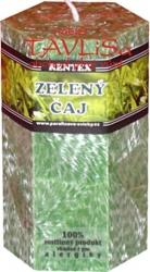svíčka šestihran Zelený čaj palmová 200g Rentex