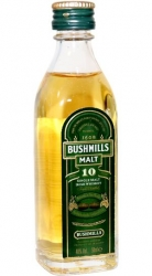 Whisky Bushmills 10 Years 40% 50ml miniatura