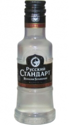 Vodka Russian Standard Orig 40% 50ml PET miniatura