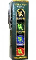 Absinth Sada Fairy Collection 4ks x 40ml miniatura