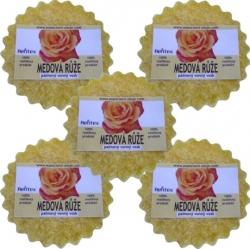 Vonný vosk medová růže 30g x 5ks Palmový Rentex
