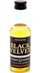 Whisky Black Velvet 40% 50ml miniatura