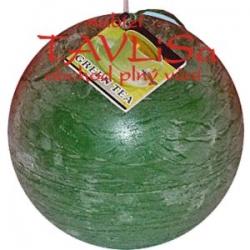 svíčka koule Zelený čaj rustic vonná 125g Rentex