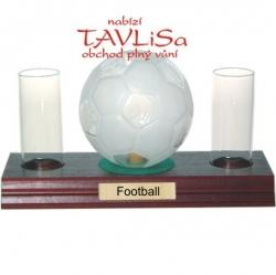 sklo Fotbalový míč 0,35l odlivky nápis Football