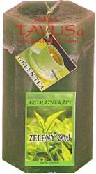 svíčka šestihran Zelený čaj rustic vonná 200g Re