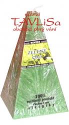 svíčka jehlan Zelený čaj palmová 170g Rentex