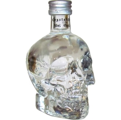 Vodka Crystal Head 40% 50ml Lebka Miniatura