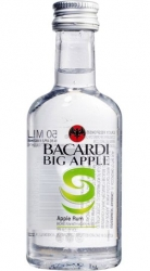 Rum Bacardi Big Apple 35% 50ml miniatura