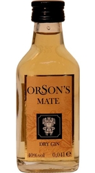 Gin Orsons Mate 40% 40ml v Sada Collection