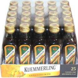 Likér Kuemmerling Orange 24% 20ml x25 miniatura