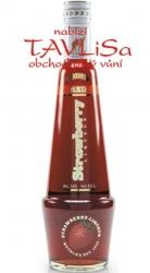 likér Strawberry Red Shaker 16% 0,5l Metelka