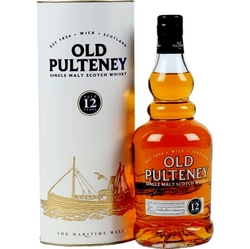 Whisky Old Pulteney 12y 40% 0,7l Tuba
