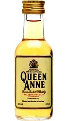Whisky Queen Anne 40% 50ml miniatura etik2