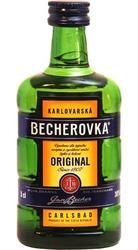 Becherovka 38% 50ml Sada-4 Jan Becher miniatura