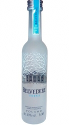 Vodka Belvedere Clear 40% 50ml miniatura etik2
