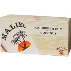 rum Malibu white 21% 50ml x12 miniatura